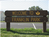 Welcome to Franklin Park Sign