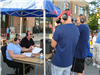 Radio Booth at Parade
