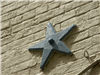 Star Detail on Side of Building