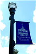 Wadsworth Banner on Lamp Post