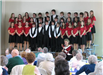 Children choir performs for Center for Older Adults.