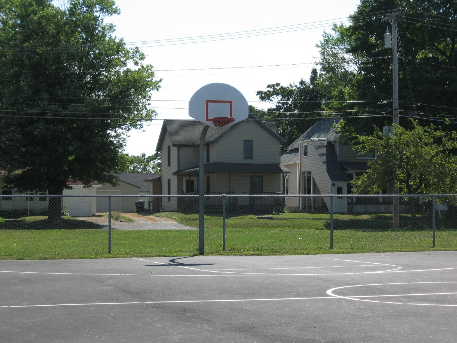 Franklin Park Basketball Court