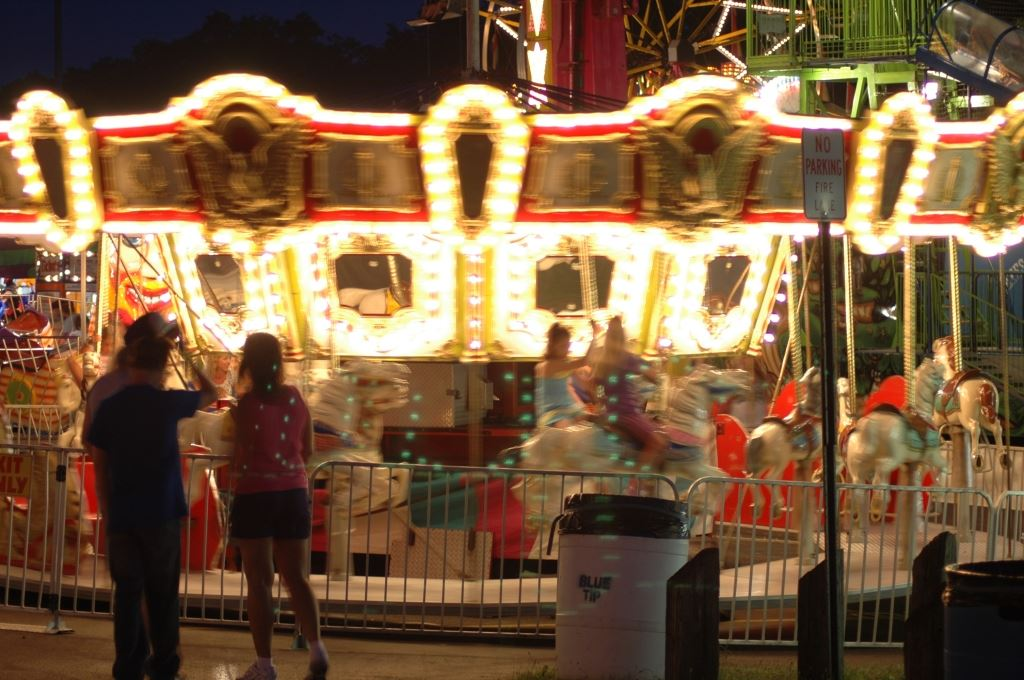 Carousel at the Carnival