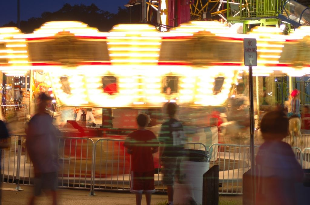 Carnival Ride in Motion