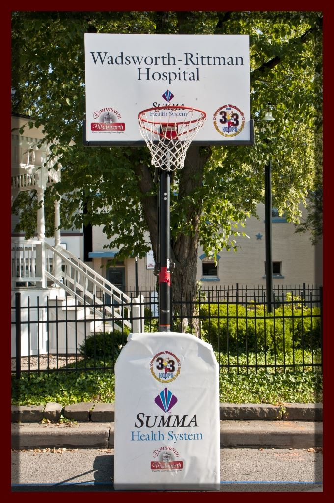 Basketball Hoop (Sponsors: Wadsworth-Rittman Hospital and Summa Health System)
