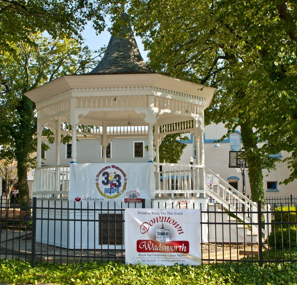 Downtown Wadsworth Gazebo