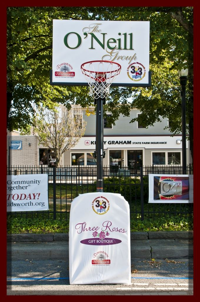 Basketball Hoop (Sponsors: The O'Neill Group and Three Roses Gift Boutique)