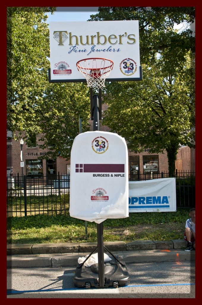 Basketball Hoop (Sponsors: Thurbers Fine Jewelers and Burgess and Niple)