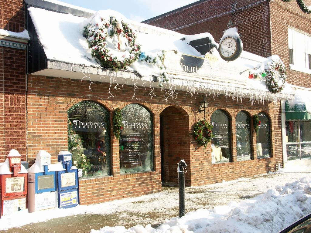 Thurbers Jeweler Storefront