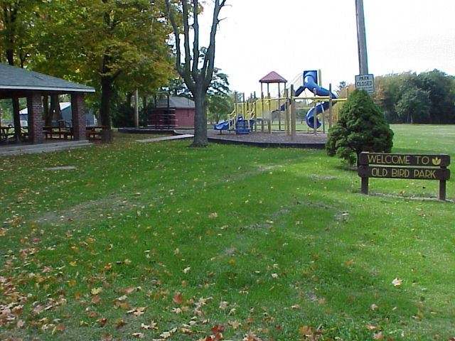 New Bird Park Pavilion and Playground Equipment