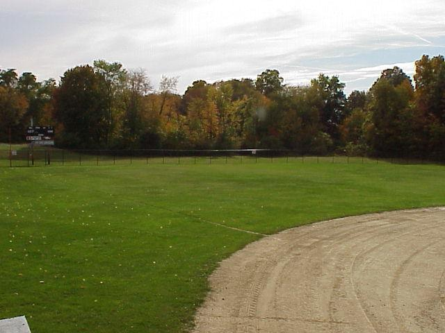 Outfield Area of A.C. Ballfield