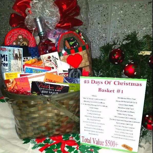 Christmas Raffle Basket