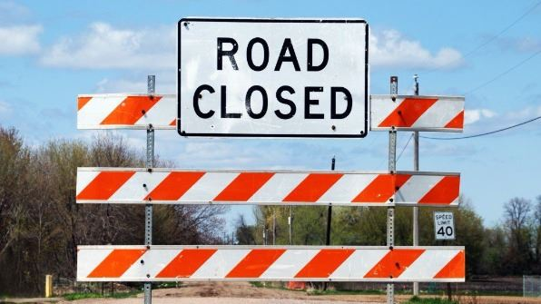 Road Closed Image