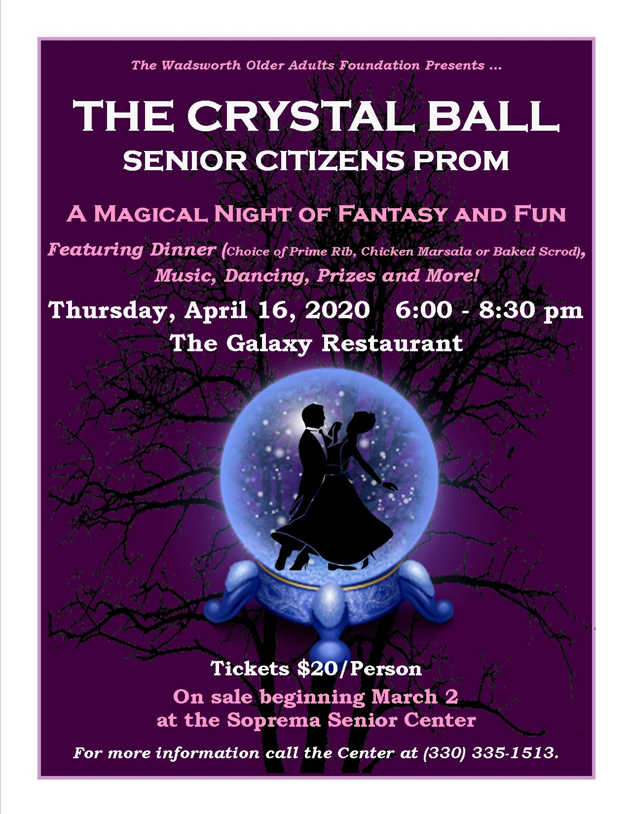 2020 Crystal Ball Prom Flyer FINAL